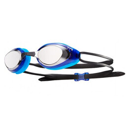 TYR Black Hawk Racing Mirrored Googles silver/blue/black